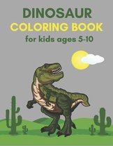 Dinosaur Coloring Book for Kids ages 5-10