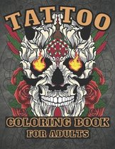 Tattoo Coloring Book for Adults: