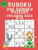 Omslag Sudoku 200 Sudoku Puzzles for Children Ages 8-12