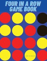 Four In A Row Game Book - Funny Road Trip Game Book for Long Car Rides, Paper Game Boards for Kids and Adults