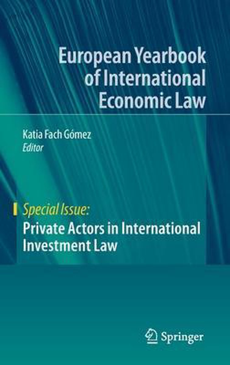 Private Actors in International Investment Law