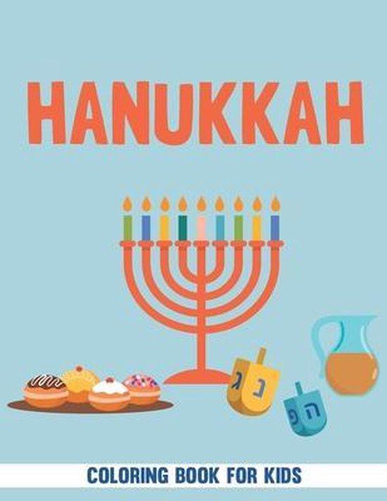 Hanukkah Coloring Book For Kids