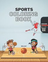 Brilliant Sports Coloring Book for Kids