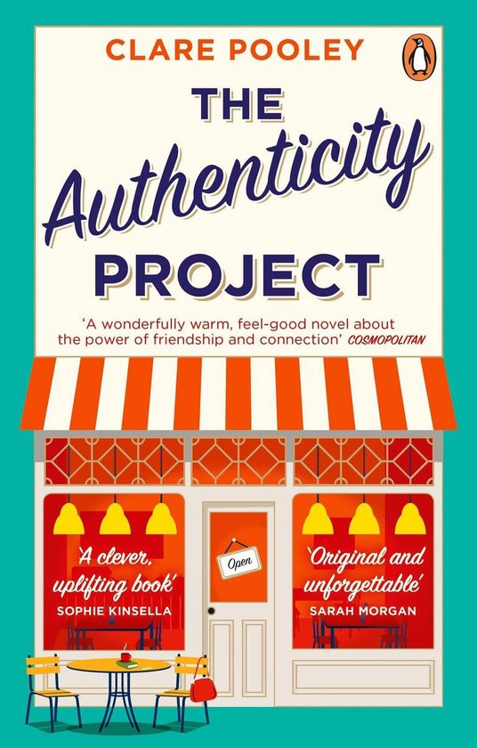 Omslag van The Authenticity Project