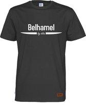 Belhamel T-Shirt Zwart | Maat S
