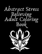Abstract Stress Relieving Adult Coloring Book