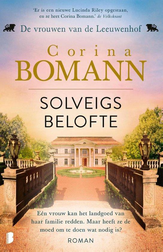 Boek cover Vrouwen van de Leeuwenhof 3 - Solveigs belofte van Corina Bomann (Onbekend)