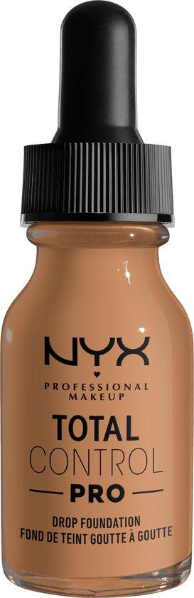 NYX Professional Makeup Total Control Pro Drop Foundation – TCPDF14 Golden Honey – Foundation –