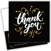 Thank You - (Bedankt) | Mystery Card | Kaart met geheime boodschap