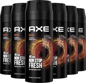 Bol.com-Axe Musk Bodyspray Deodorant - 6 x 150 ml - Voordeelverpakking-aanbieding