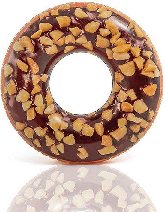 Intex Zwemband Opblaasbaar: donut choco 114 cm