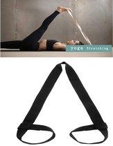Riem voor yogamat - Draagriem 100% Katoen - Alle Mat Maten - Zwart