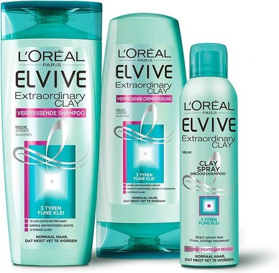 L'Oréal Paris Elvive Extraordinary Clay shampoo 250ml