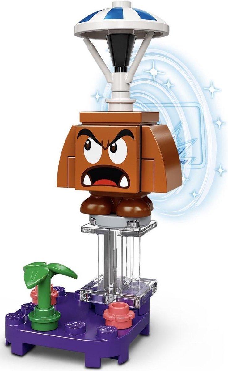 LEGO 71386 Super Mario Serie 2 Personagepakket - Parachute Goomba (verpakt in transparant zipzakje)