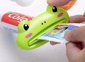 1 Stuk - Tandpasta knijpers - Cartoon - Kikker - Tandpasta squeezer - Tandpasta dispenser - Tandpasta squeezer voor kinderen - Tube knijper - Tandpasta uitknijper - Tubeknijper - Groen