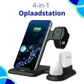 Oplaadstation iPhone - 3 in 1 Docking Station Apple - Snelle Draadloze Oplader iPhone / iWatch / AirPods - Fast Charger - Wireless