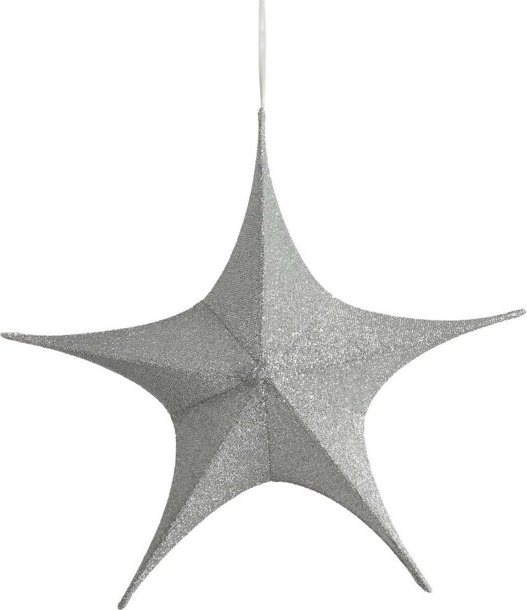 2 stuks House of seasons Ster zilver kleur D65cm kopen