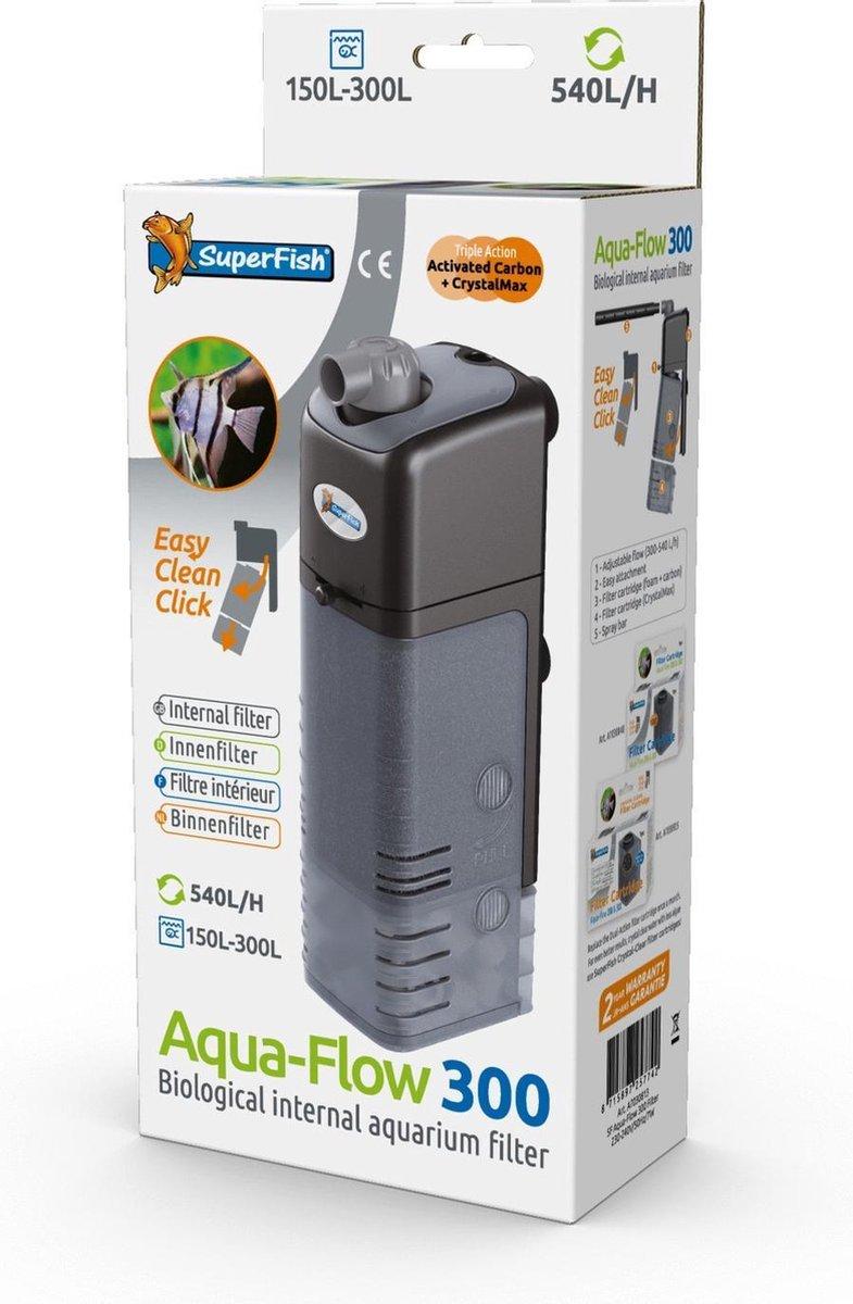 Superfish AquaFlow 300 - Aquariumfilter - 540 L/H