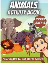 Animals Activity Book For Kids