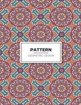 Geometric Pattern Design Coloring Book: Patterns Coloring Book