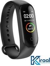 Stappenteller - Activity Tracker - Temperatuurmeter - Bloeddrukmeter - Hartslagmeter - Smartwatch - Horloge - Heren - Dames - Nederlandse Handleiding