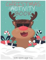 Christmas Activity Book for Kids Age 3-6