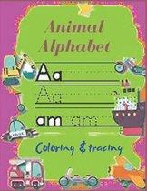 Animal Alphabet Coloring & tracing