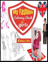 My Fashion Coloring Book for girls-English