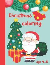Christmas coloring age 4-8