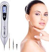Laser Plasma Pen | Wit | Huidverzorging | Gezicht | Huid | Donkere vlekken Verwijderaar | Sproeten Verwijderaar | Pigmentvlekken Verwijderaar | Wratten Verwijderaar | Tattoo Verwijderaar | Moedervlekken Verwijderaar | Huidverjonging |