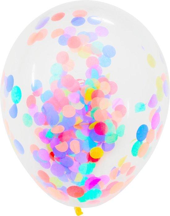 Confetti Ballonnen - Ballonnen set - Liefde - Bruiloft - Trouwerij - Feest - Love - Voor hem - Voor haar - Moederdag - Sarah