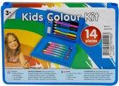 Kinder Kleurkoffer 14dlg