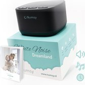 Numsy® Dreamland White Noise Machine Baby - Witte Ruis Machine - Slaaptrainer - Baby Muziekdoosje - Slaaphulp - Witte Ruis Baby