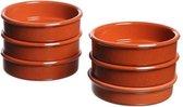 Creme brulee schaaltjes - Ovenschaaltjes klein - 6 stuks - d11,5cm
