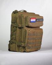 Always Prepared Tactical Backpack - Rugzak - Khaki - 45 Liter