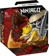 LEGO NINJAGO Epische Strijd Set Kai tegen Skulkin - 71730