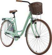Ks Cycling Fiets Damenfiets Cityrad Zeeland 28 inch groen - 48 cm