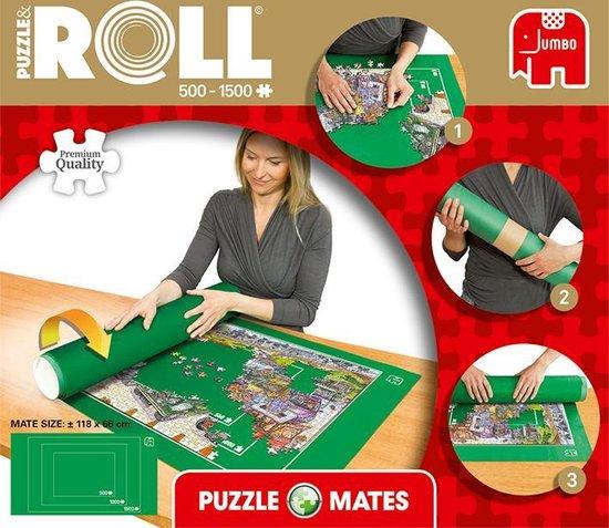 Jumbo Puzzle & Roll  Puzzelmat Puzzelrol 500 tot 1500 Stukjes - Jumbo