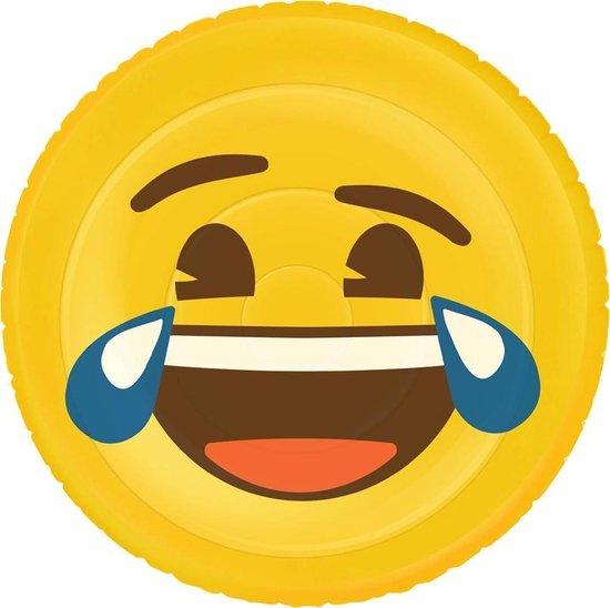 Opblaasbaar Luchtbed Figuur Emoji Face Lol