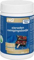 HG sieraden reinigingsbadje - 300 ml - inclusief borstelje en pincet