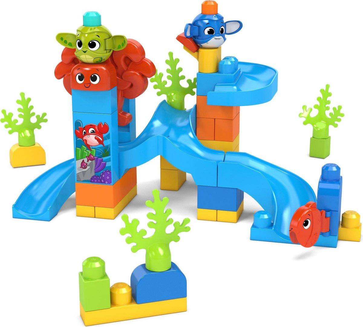 Fisher Price Mega Bloks - Peek a Block Onderwater Avontuur Bouwset