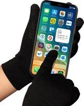 YONO Handschoenen met Touchscreen - Heren en Dames Unisex - Zwart - Maat L