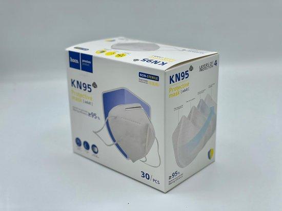 Afbeelding van Hoco FFP2 KN95 niet Medische mondkapjes- mondmasker Gecertificeerd- 20 Stuks.