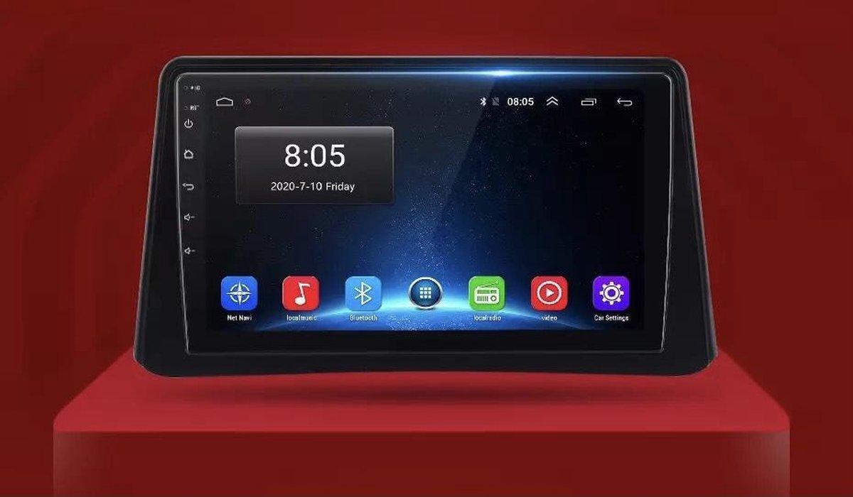 Opel Mokka 2012-2016 Android 10 navigatie en multimediasysteem Bluetooth USB WiFi 2+32GB