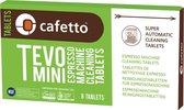 Cafetto | Biologische | Tevo Mini | Espressomachine | Cleaning tablets | Geschikt voor koffiemachine met bonen
