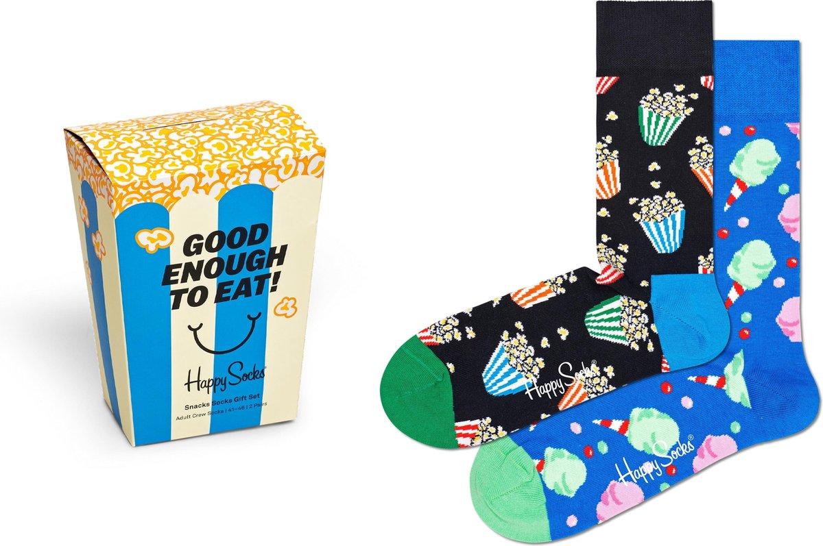 Happy Socks XSNA02-6300 Snacks 2-pack Gift Box - Maat 41-46