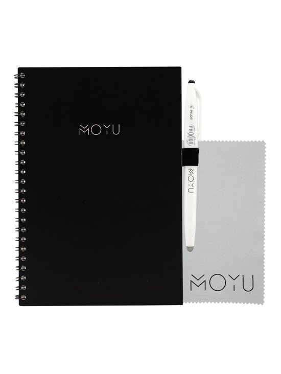 MOYU Ringband A5   Business Black   Uitwisbaar & herschrijfbaar notitieboek