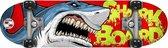 Skids Control Skateboard Shark 71 X 20 Hout/pvc Rood/blauw