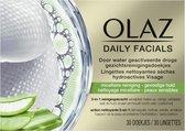 Olaz Total Effects Daily Facials Gezichtsreinigingsdoekjes Gevoelige huid 30 Stuks