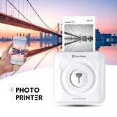 HomeRun™ Peripage Pocket Printer - Foto Printer - 2020 Nieuwste Model - Bluetooth - Smartphone/Mobiel - Sprocket - Portable Printer - Mini Printer - Inclusief Printpapier